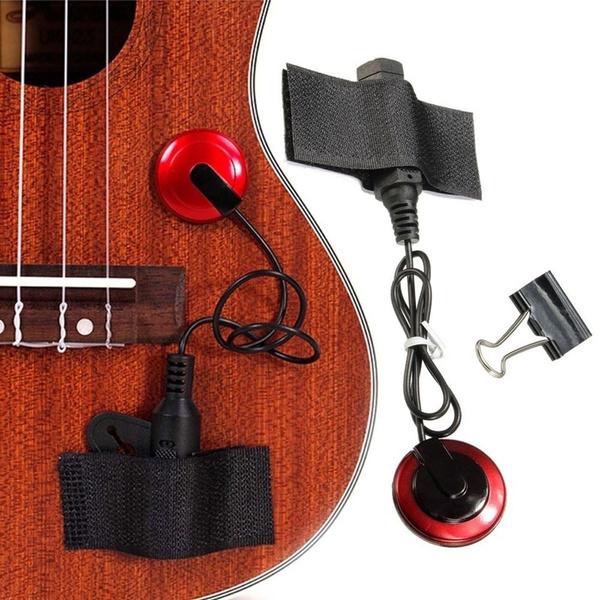 Microphone, pickupaccessorie, portable, ukulele