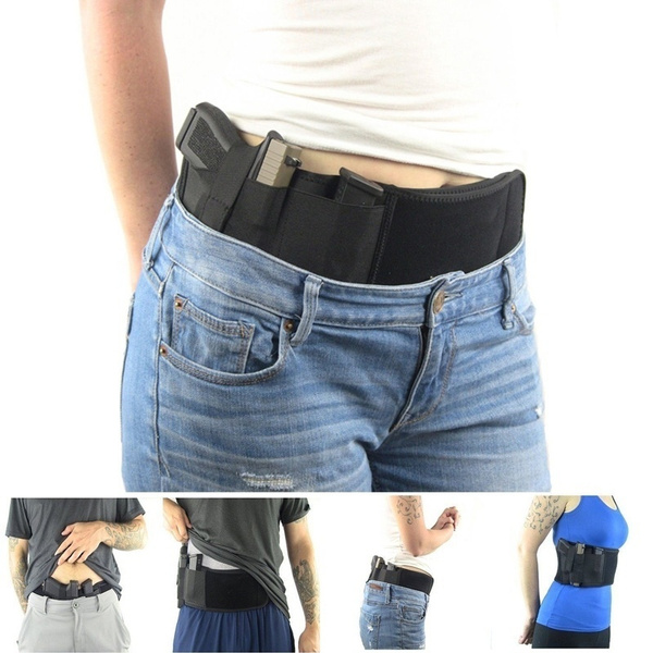 Picture of Concealed Carry Ultimate Belly Band Holster Gun Pistol Holsters Fits All Pistol.hanyi