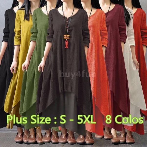 Women, Cotton, largesizedres, Sleeve