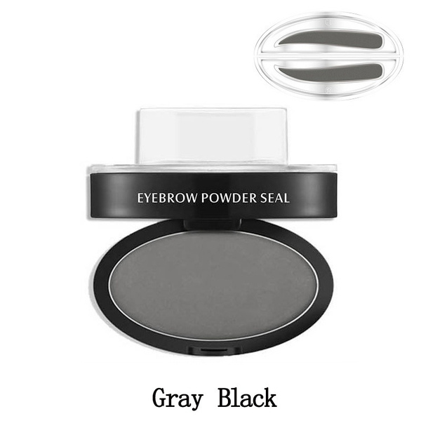 Creative Unique Lazy Makeup Eyebrow Powder Brow Stamp Simple Popular High Quality Brow Powder Makeup Hot Sale