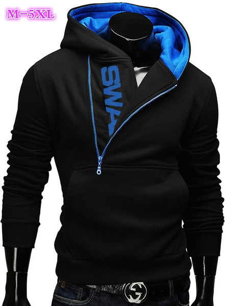 febd9483 Mooncolour Mens Novelty Color Block Hoodies Cozy Sport Autumn ...