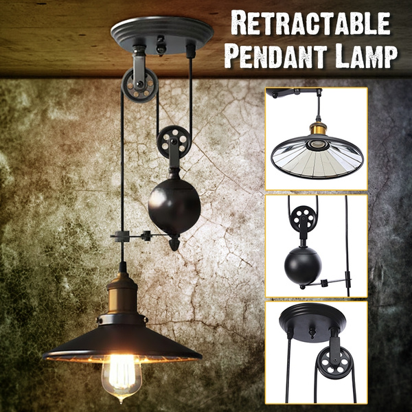 Chandelier Industrial Lamp Home Decoration Retro Ceiling Light For E27 Lamp