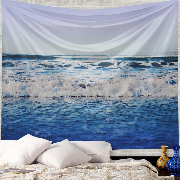 Wish creative map of the world sea tapestry fashion beauty wall wish creative map of the world sea tapestry fashion beauty wall hanging polyester sandy beach towel yoga mat picnic blanket throw rug wall carpet gumiabroncs Images