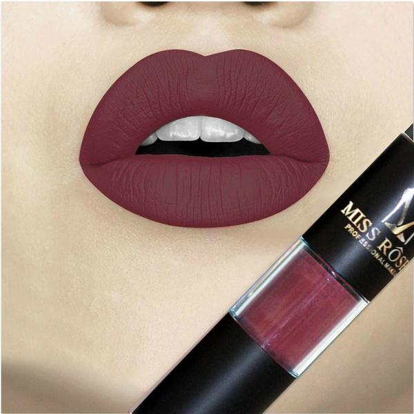 Picture of Sexy Long Lasting Waterproof Ultra Matte Liquid Lipstick Moisturizer Velvet Lipstick Cosmetic Beauty Makeup