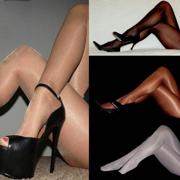 glossystocking, ladiesstocking, sexy Women's Fashion, Socks