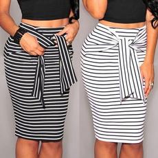 Mini, Fashion, high waist, Skirts