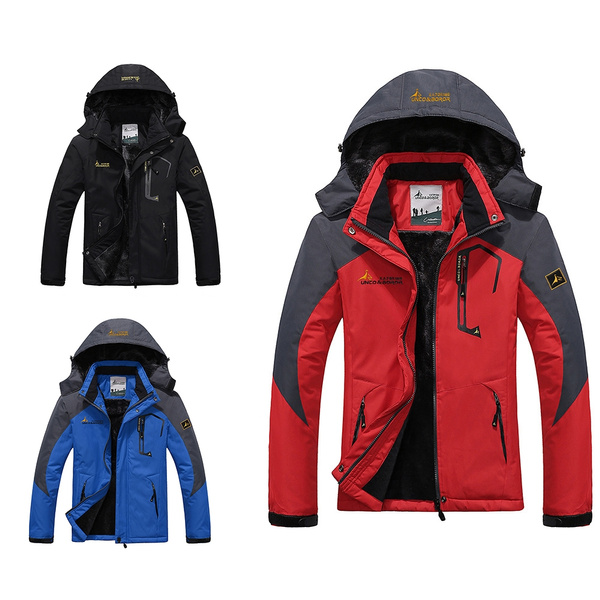 Kleidung Jacken Herren Bergsteigen Warme Outdoor Mantel Skifahren Winddichte BCerdxo