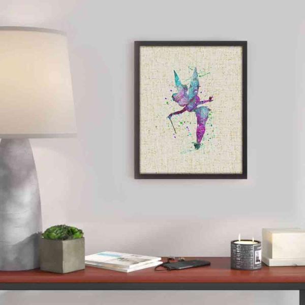 Wish | Tinkerbell Fairy - Watercolor Painting Art Peter Pan Poster ...