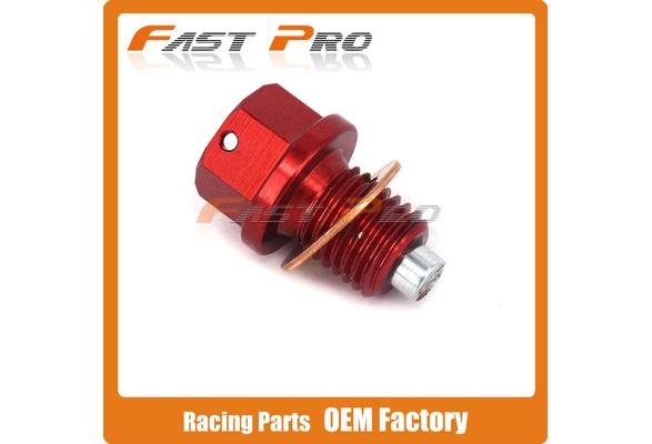 CNC Aluminum Magnetic Oil Drain Plug Bolt Fit RVF400 VFR400R CB500F CB500X CBR500R CBR600F CBR600 CB650 CBR650F NC700 NC750