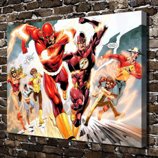 art, Superhero, Home Decor, Home & Living