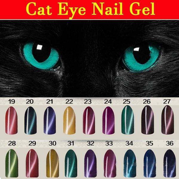 Wish Beauty Cat Eyes Gel Uv Led Lacquer Varnish Vip Nail Polish Send Magnet Art 36 Colors Choose