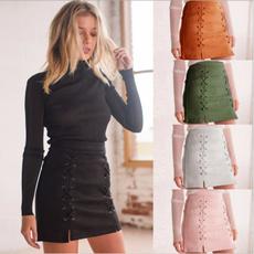 Mini, pencil skirt, Lace, Summer