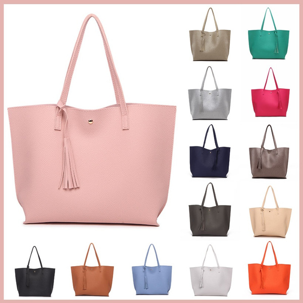 Picture of Women Messager Bag Tassel Leather Bag Large Capacity Ladies Crossbody Bags