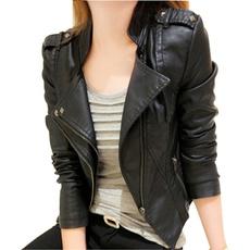casaco, Autumn, Fashion, mujer