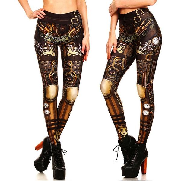 Leggings, Fashion, Star, Elastic