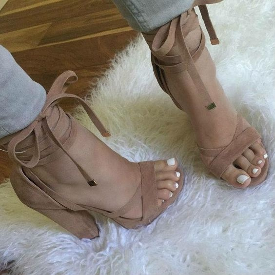 Picture of Women Fashion Sandals Women Bohemian Summer Casual Shoes Size 10.5 Color Light Pink