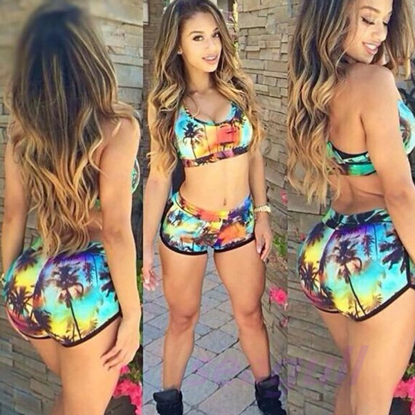Women Sexy Bandage Bikini Set Swimsuit Swimwear