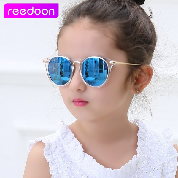 ba43217af7c3b REEDOON Baby Boys Girls Kids Sunglasses Vintage Round Sun Glasses UV ...