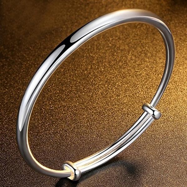 Sterling, 925 sterling silver, Jewelry, adjustablebracelet