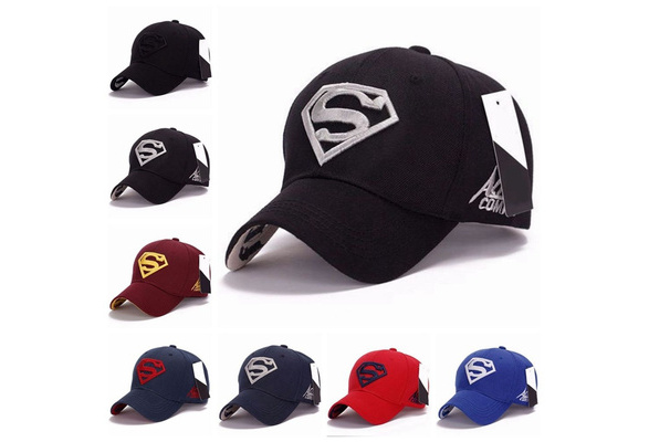 3c5f67d7c 1Pc Men's Unisex Snapback Adjustable Fit Baseball Cap Superman Hip-hop  Stretch Hat