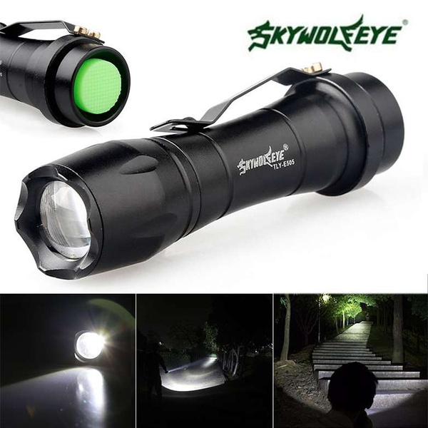 Adjustable Torch Portable Lamp Flashlight Zoomable 300lm Focus Q5 Led K3FulTc1J