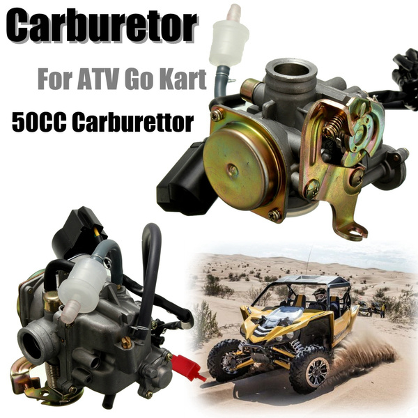 50CC Scooter Motor Carburetor Moped Carb For 4-Stroke GY6 SUNL ROKETA JCL  Qingqi Vento