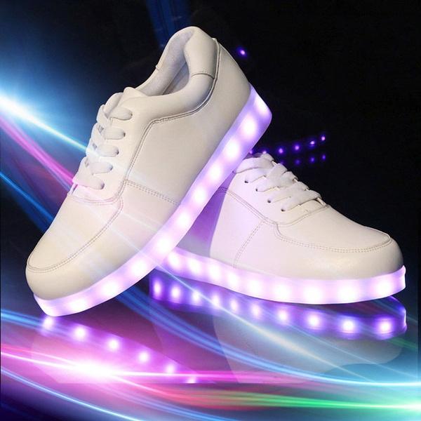 premium selection b18ad bacd5 Lover Blinkende Damen Sneakers Led Light Farbwechsel Schuhe LED Licht Trendy