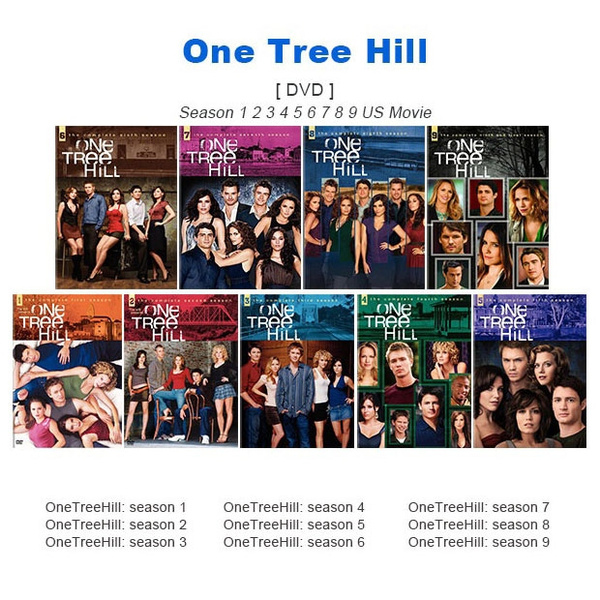 One Tree Hill On Dvd Seasons 1 8 - Best Tree In The Forest
