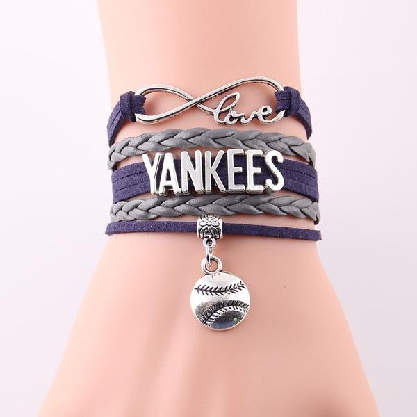 Mlb Sport Baseball Team Charm Bracelets