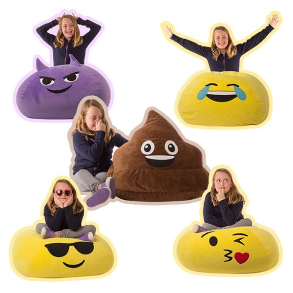 Incredible The Lazy Sofa Emoji Bean Bag Sofa Funny Seat Washable Chair Forskolin Free Trial Chair Design Images Forskolin Free Trialorg
