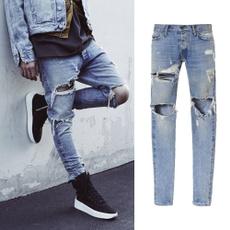 Blues, slim, skinny pants, Casual pants