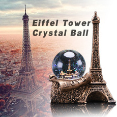 Love, ledsnowglobe, crystalball, Eiffel Tower