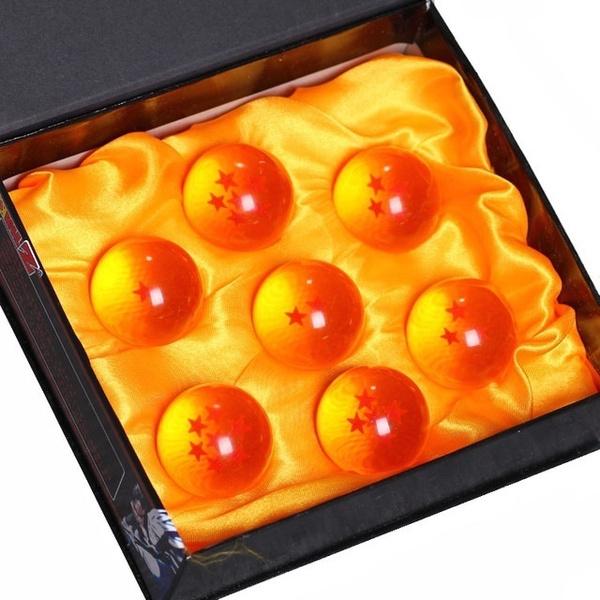 7Pcs//Set 3.5CM Dragon Ball Z 7 Stars Crystal Balls DragonBall Ball Gift