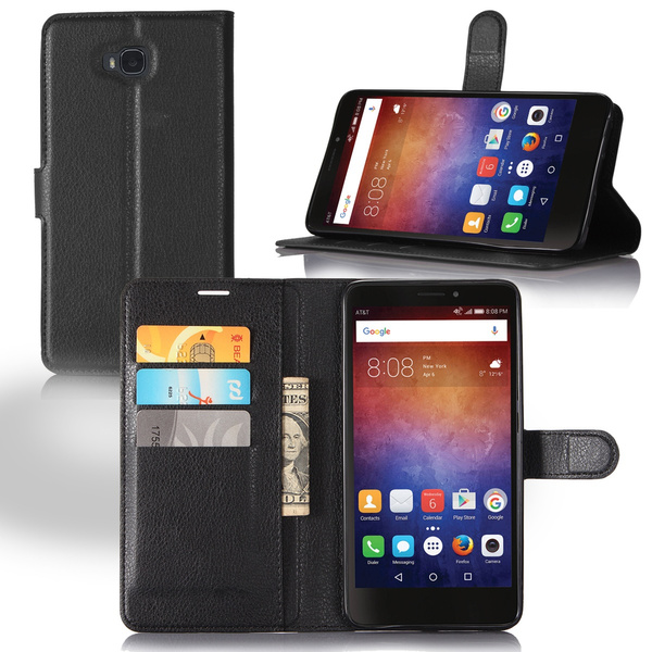 premium selection 887d2 67764 Leather case for Huawei Ascend XT H1611 phone holster flip wallet with card  holder multi color, litchi pattern