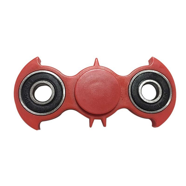 Bat Shape Fidget Spinner EDC Tri-Spinner Fidget Toy Anti-stress Toy