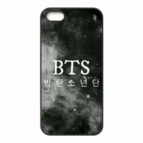 pretty nice c87ca 55414 Kpop BTS Team Logo Phone Covers Shells Hard Plastic Cases For Apple iPhone  4/4S/5/5S/5C/6/6 Plus/6S/6S Plus/SE/7/7 Plus , iPod Touch 4/5/6,HTC, ...