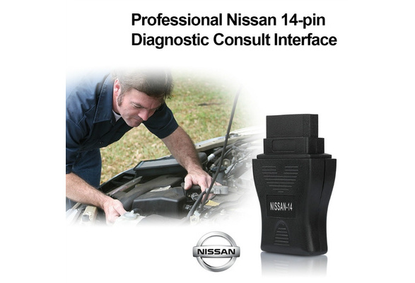 NEW Consult 2 II 14PIN DDL Code Reader OBD USB Interface Scanner Diagnostic  Scan Tool for Nissan