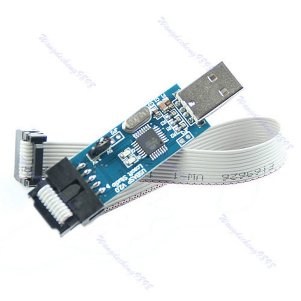 1pc USB ISP Programmer For ATMEL AVR ATMega ATTiny 51 Development Board New  LIO