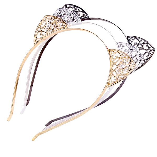 Rhinestone Cat Ear Headband For Costume Party Cosplay Headwear Hair Band