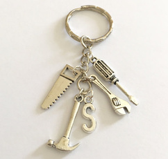 monogram, Key Chain, Jewelry, Gifts