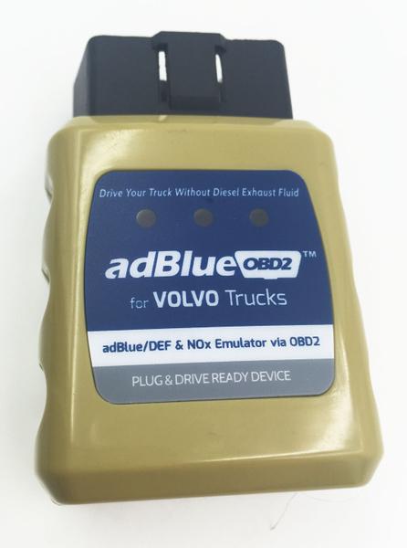 For VOLVO Truck Adblue Emulator AdblueOBD2 Adblue/DEF Nox Sensor damaged  SCR System via OBD2 Emulator Adblue for VOLVO