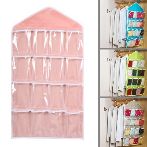Wish | DEGROUP Home Living Supplies 16 Pockets Organizer Transparent ...