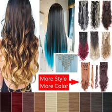 fullheadharextension, Head, fashion wig, human hair