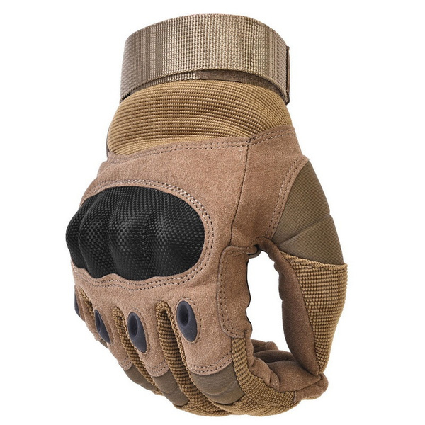 53c348062daf Military Tactical Gloves Hard Knuckle Motorbike ATV Riding Motorcycle  Gloves Army Combat Full Finger Gloves for Men Airsoft Paintball