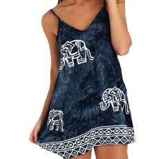 Mini, Beach, Tops, Elephant