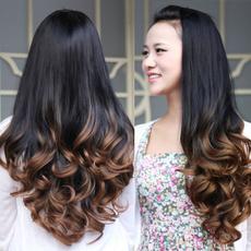 wig, Beauty, human hair, gradientwig