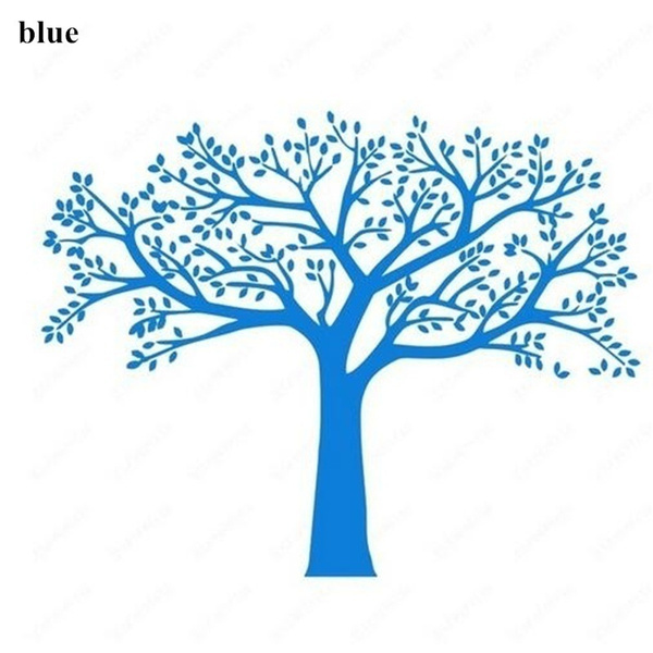 Wish | Family Tree Wall Decals Vinyl Wall Decal Photo Frame Tree ...