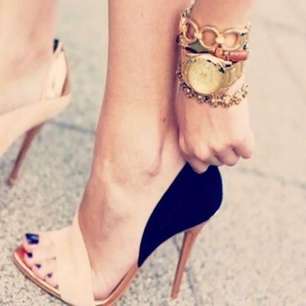 Picture of Summer Style Women's High Heels Bandage Sandals Shoes