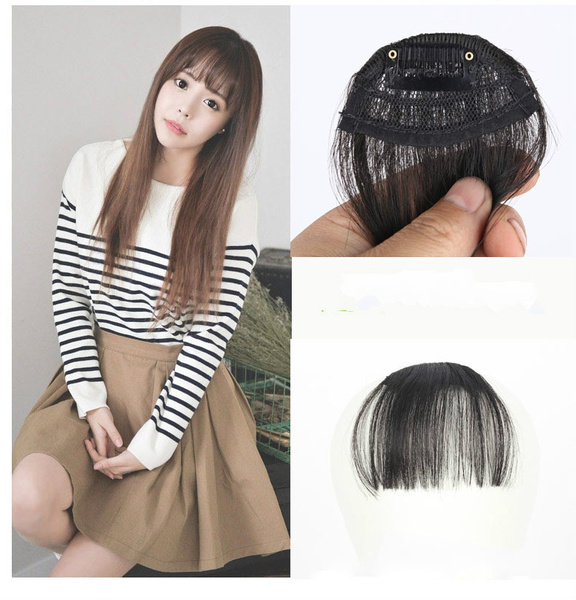 Wish Mini Sexy Clip In Bangs Fake Hair Extension Bangs Hairpiece
