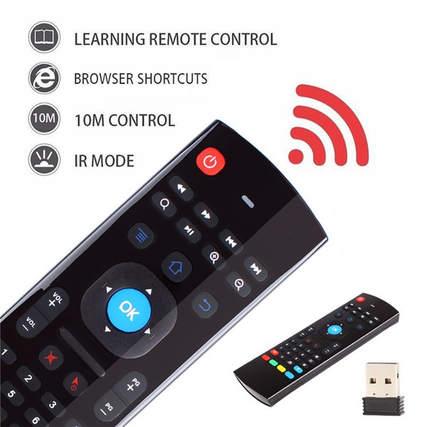 MX3 Air Mouse Wireless Keyboard Remote Voice Control For Android TV BOX,Smart TV